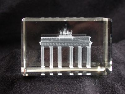 Glasobjekt Brandenburger Tor